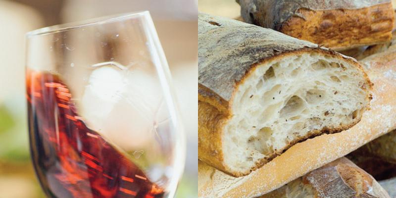 Dal fare al gustare… Dal Pane al Vino!